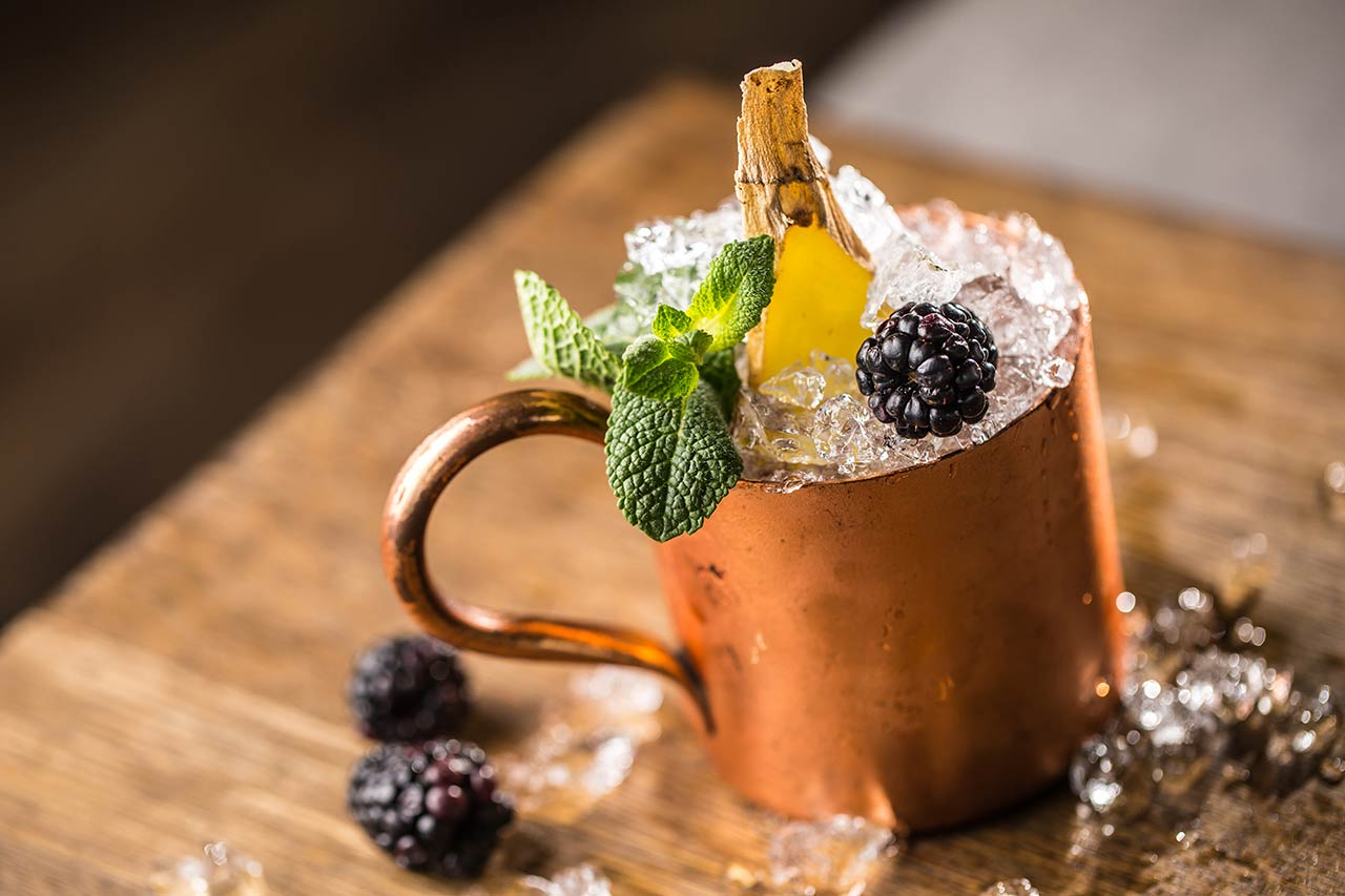 BERRY MOSCOW MULE (great twist)